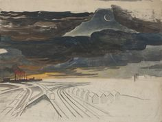 new-moon-by-charles-burchfield