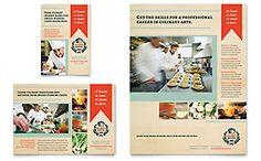 Seafood Restaurant  Flyer Template Design Sample  Print Design