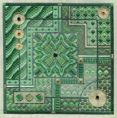 Laura J Perin Designs - Stitch Therapy Needlepoint Canvas Designs, Canvas Patterns, Needlepoint Stitches, Needlework, Bargello Needlepoint, Needlepoint Designs, Blackwork, Hardanger Embroidery, Embroidery Stitches