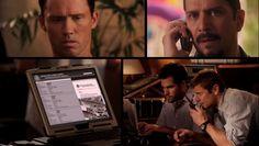 """Burn Notice 5x01 """"Company Man"""" - Michael Westen (Jeffrey Donovan), Max (Grant Show) & Armando Puente (Carlos Sanz)"""