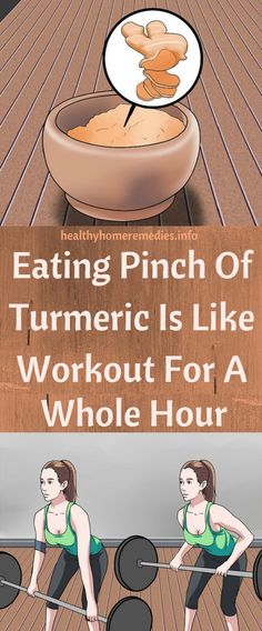 Eating Pinch Of Turmeric Is Like Workout For A Whole Hour