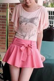 Afbeeldingsresultaat voor bow tie skirt