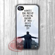 Sherlock Holmes Jump Quote -3 for iPhone 4/4S/5/5S/5C/6/6+,samsung S3/S4/S5/S6 Regular/S6 Edge,samsung note 3/4