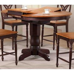 Found it at Wayfair - Round Counter Height Pub Table