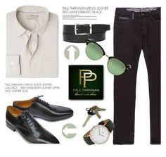 """PAULPARKMAN.com"" by monmondefou ❤ liked on Polyvore featuring MANGO, Ray-Ban, men's fashion, menswear and paulparkman"