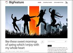 BigFeature – WordPress Theme - $35