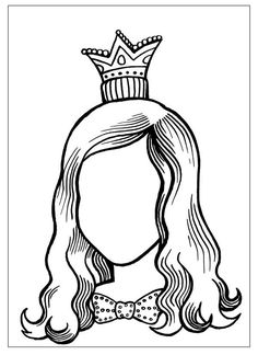 Mother Portrait coloring pages. Free Printable Mother Portrait coloring pages. Colouring Pages, Printable Coloring Pages, Theme Carnaval, Kids Sunday School Lessons, Jewish Crafts, Princess Coloring, Doily Patterns, Dress Patterns, Process Art