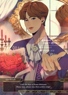 Bts Fans, Princess Zelda, Disney Princess, Blossom Flower, Seokjin, Zine, Disney Characters, Fictional Characters, Fan Art