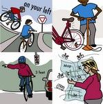 """No matter your cycling skill-level, a prescribed mixture of safety-consciousness road knowledge and a few drops of common sense are enough to cure even the worst case of """"Unridden Bike Syndrome."""""""