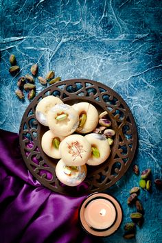 If you think making Diwali sweets means the whole day in the kitchen think again. We have some delicious and super quick Diwali sweet recipes for you today. Sweet Dishes Recipes, Snacks Dishes, Food Dishes, Savory Snacks, Indian Dessert Recipes, Indian Sweets, Indian Snacks, Indian Foods, Indian Recipes