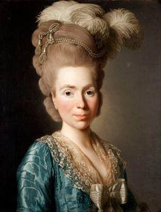 1777 Princess Natalia Petrovna Golitsyn, born Chernyshev by Alexander Roslin (Malmö Konstmuseum - Malmö, Skåne, Sweden) Google Art Project via Wm