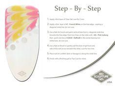 Yellow step-by-step Bio Sculpture Gel Nails, Nail Art Brushes, Sculpture Ideas, Gel Nail Art, Nail Art Galleries, Mani Pedi, Nail Tech, Art Tutorials, Creative Inspiration