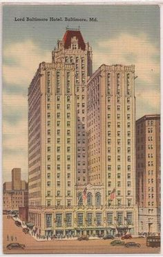 1000 images about lord baltimore hotel on pinterest for Lord of baltimore hotel