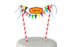 Lilly K Mini Cake Bunting - Circus