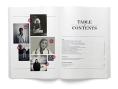 Editorial: Table of Contents (by Greg Hubacek)