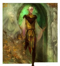 Studying Solas' romance outfit, I saw a lot of things I hadn't before, and am just super impressed with the art team over at BW, bless by kallielef