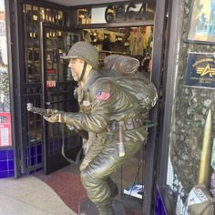 Supply Sergeant on Hollywood Boulevard for military gear, uniforms, and supplies.  Nearby, one can also find Hollywood Toys & Costumes.  --Photo of Glitterati Tours #costumes #toys #hollywood