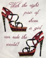 Shoes Sayings 4 sizes