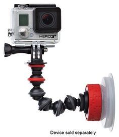 Joby - Action Series Suction Cup and GorillaPod Arm, JB01329