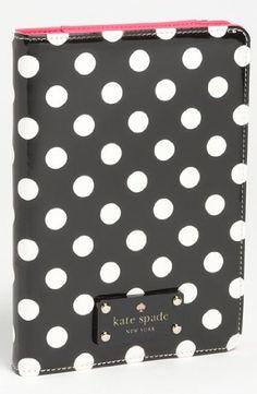 kate spade new york 'le pavillion' iPad mini folio.  $65 from Amazon