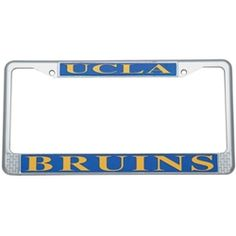 ucla best buys license plate frame but it would be nice if they also made
