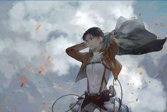 Levi Ackerman l strongest Soldier of Humanity