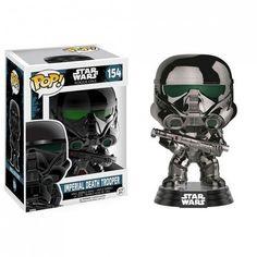 Bobble Head POP Star Wars R1 Imperial Death Trooper Chrome (Exclusive)