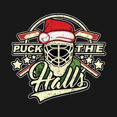Puck the Halls Christmas Hockey Hoodie, T-Shirt, Sweatshirt, Phone Case