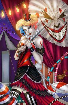 Harley Quinn Harley Quinn Drawing, Joker And Harley Quinn, Comic Book Characters, Comic Character, Comic Book Girl, Gotham Girls, Dc Comics Art, Comics Girls, The Villain