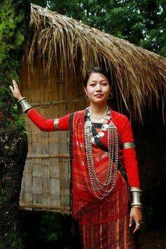 Chakma  attire