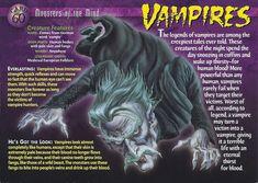 Card 60 - Vampires