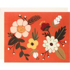 Folk Note Card Set - Paper Source