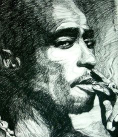 tupac by arty147 on DeviantArt
