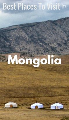Includes: the most beautiful places in the Mongolia, the best things to do in the Mongolia, plus where to visit in the land of beautiful nature, must visit places, and incredible people.