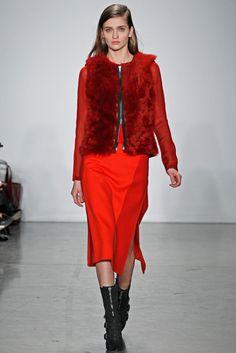 Reed Krakoff Fall 2012 Ready-to-Wear Fashion Show - Ella Kandyba