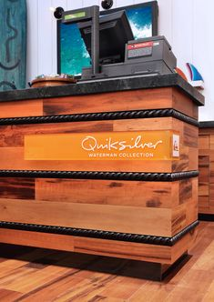Quiksilver Watermans cash wrap Fashion Island Newport Beach