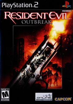 Resident Evil Outbreak Box Front
