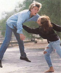 River Phoenix with his sister Rain. River Phoenix, River And Joaquin Phoenix, Rain Phoenix, River I, Moon River, Beautiful Boys, Pretty Boys, Little Bit, Keanu Reeves