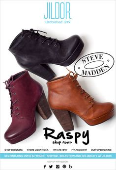 Steve Madden Raspy - Mad about it