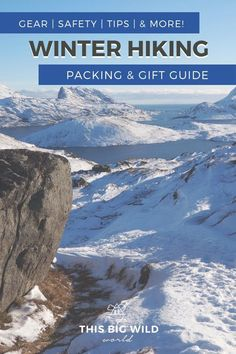 Prepared girls are ready for any adventure // Packing for Winter Hiking in Norway: The Prepared Girl's Guide Winter Hiking, Winter Travel, Winter Gear, Hiking Norway, Road Trip Packing, Packing Lists, Travel Packing, Hiking Gifts, Whitewater Rafting