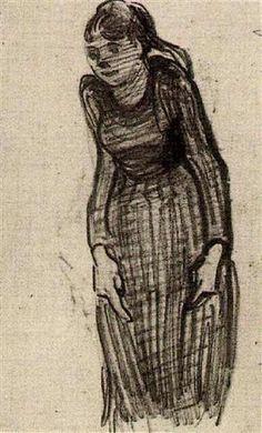 Woman Standing - Vincent van Gogh
