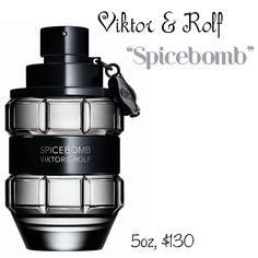 Viktor and Rolf | Spicebomb | Mens Cologne | Gifts for Him | Man Style