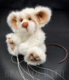Whiskers the Mousebear Panda Bear, Polar Bear, Teddy Bear, Hyena, Lemur, Orangutan, Chipmunks, Guinea Pigs, Mammals
