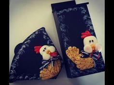 DIY- Fran aulas - mdf com galinhas- biscuit- parte 1 - YouTube