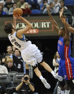 b821ed7bd8a Ricky Rubio--Minnesota Timberwolves NIFTIEST player in the NBA. Inspiring!!  Iowa