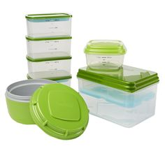 Adult Perfect Lunch Kit with 9 Reusable Lunch Containers