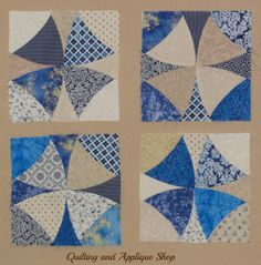 Cheryl has invited me to post a little tutorial on how to create a Winding Ways block using precut shapes. These precut blocks are available from the shop and they really do make it very easy to cr…