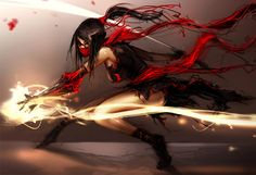 league of legends akali fan art - Google Search
