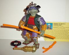 teenage mutant ninja turtles DONATELLO SAMURAI DON 1992 movie III complete tmnt action figure toys playmates