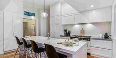All things bright and beautiful are found here at this virtually rebuilt character home on the edge of the Parnell Village. Character Home, Brighton, Lamb, Kitchen Ideas, Meals, Table, Furniture, Home Decor, Homemade Home Decor